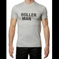 Roller Man T-Shirt - Grey