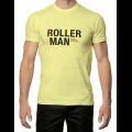 Roller Man T-Shirt - Yellow